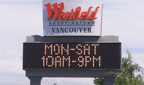 retail signs washington, retail signs vancouver, electrical signs washington, electrical signs, washington sign company